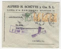 Spanien Michel No. 769 , 776 auf Brief