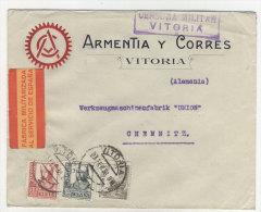 Spanien Michel No. 766 , 770 , 773 auf Brief
