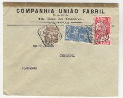 Portugal Michel No. 542 , 598 , 600 auf Brief