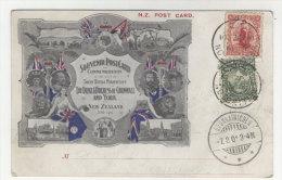 Neuseeland Karte 1901