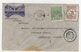 Australien Brief 1937