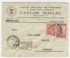Argentinien Brief 1937