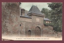 Carte Postale - Vizille - Porte D'entrée Du Parc Du Chateau Vue Extérieure - Vizille