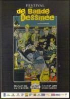 """Carte Postale """"Cart´Com"""" (2004) - Festival De Bande Dessinée (illustration : Mezzo) - Publicité"""