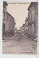 carte de  is sur tille   rue g�n�ral bouchu   ( recto verso )