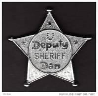 ##B, Canada, Badge, étoile, Shérif, Deputy, Star, Sheriff - Ohne Zuordnung