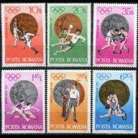 ROMANIA 1972 - Scott# 2381-6 Olympics Winners Set Of 6 MNH (XN509) - Unused Stamps