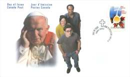 2002   World Youth Day  Sc 1957 Single From Booklet - 2001-2010