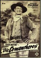 """Illustrierte Film-Bühne  -  """"Die Comancheros"""" -  Mit John Wayne  -  Filmprogramm Nr. 5983 Von Ca. 1961 - Magazines"""