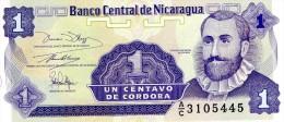 NEUF : BILLET DE 1 CENTAVO - NICARAGUA 1991 - Nicaragua