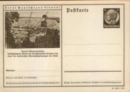 Germany/Empire - Stationery Postcard Illustrated Unused  - P236(38-122-1-B6), Kurort Oberwiesenthal , Drahtseilbahn - Entiers Postaux