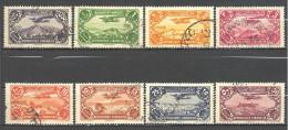 Grand Liban: Yvert N° A 39/47°; 8 Valeurs - Gran Libano (1924-1945)