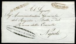 Otranto 00543k - 1. ...-1850 Prefilatelia
