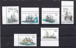 Australian Antarctic 1979-1981 Ships Series III MNH - Australian Antarctic Territory (AAT)