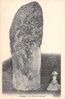 CARNAC -- Le Menhir  -le Géant De KERDEF ( Théme  : DOLMENS & MENHIRS) - Dolmen & Menhirs