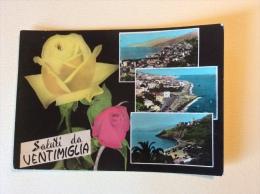 Saluti Da Ventimiglia Viaggiata - Imperia