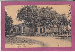31.- FONSORBES .- Trépadé Ecole De Filles - Other Municipalities