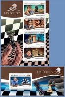 tg14706ab Togo 2014 Chess Horse 2 s/s