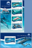 tg14711ab Togo 2014 Dolphins 2 s/s