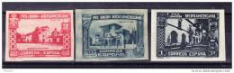ESPAGNE Y&T 464, 467 Et 469 ** NON DENTELE. (E11) - Unused Stamps