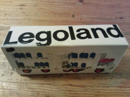 Legoland Melkwagen met oplegger nr 645 met 57 onderdelen (compleet)