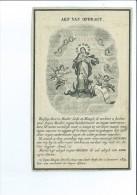 SEBASTIANUS F VAN LOO ECHTG CATHARINA DE BACKER ° ASSENEDE 1782 + 1849 DRUK VAN HAN EEKLO - Imágenes Religiosas