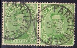137 Paire Farciennes - 1915-1920 Albert I