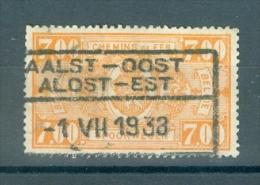 "BELGIE - OBP Nr TR 159 - Cachet  ""AALST-OOST - ALOST-EST"" - (ref. VL-4377) - Railway"
