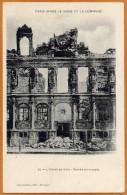 75 / PARIS Après Le Siège Et La Commune - Hôtel De Ville - Entrée Principale En Ruines - Distretto: 04