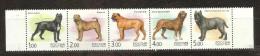 RUSSIA, 2002, Animals Fauna Animal Dog Mammals Mammal Dogs Sharpey Bull Mastiff,  MNH, (**) - Zonder Classificatie