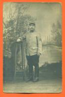 """Carte Photo   """"  Militaire Du 108° Regiment   """"  Cavalerie - Bottes - Weltkrieg 1914-18"""