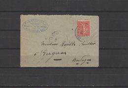 17 - Montlieu - P. A. Vieuille - Huissier - 1926 - Postmark Collection (Covers)