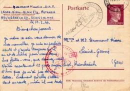 LAGER-BIRAU Heydebreck 0/S - Poststempel (Briefe)