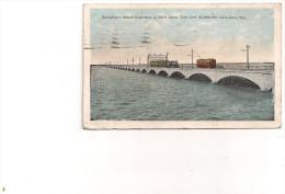 Galveston's Great Causeway 1921 - Galveston
