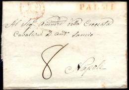 Palmi 00551b - Piego Senza Testo Del 25 Ottbre 1824 - - Italia