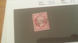 LOT 242968 TIMBRE DE FRANCE OBLITERE N�17B VALEUR 55 EUROS