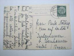 1939 , ROTENKIRCHEN über Kreiensen  ,klarer  Landpoststempel Auf Karte - Covers & Documents