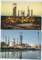 Lot De 2 CPM Port-Gentil La Raffinerie - Gabon