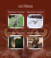 tg14618a Togo 2014 Birds Owls s/s