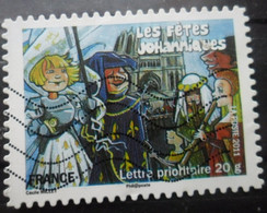 FRANCE Autoadhésif N°580 Oblitéré - KlebeBriefmarken