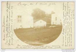 AUBY ..-- BERTRIX ..-- Carte - Photo . 1902 de CUGNON vers BRUXELLES ( Docteur DELSAUX ) . Voir verso .