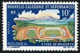 NOUV.-CALEDONIE 1967 - Yv. 337 **   Cote= 2,40 EUR - Stade De Magenta à Nouméa ..Réf.NCE22915 - Neukaledonien