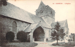CPA Genets L'église L1448 - France