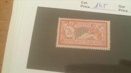 LOT 243029 TIMBRE DE FRANCE NEUF* N�145 VALEUR 55 EUROS