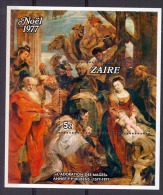 Zaire - Bloc 24 - BL24 - Rubens - 1977 - MNH - Zaire