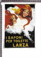 CO-2293 I SAPONI PER TOILETTE LANZA PUBBLICITA ILLUSTRATORE LIM - Cromos