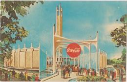 Amérique,états-unis,THE COCA-COLA COMPANY  PAVILION,new York World´s Fair 1964 1965,rare - New York City