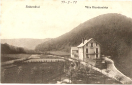 BOBENTHAL - VILLA UTZSCHNEIDER  (1919) - Alemania