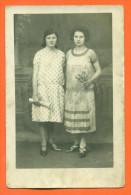 """Carte Photo à Identifier   """"  Deux Femmes  """" - Cartoline"""