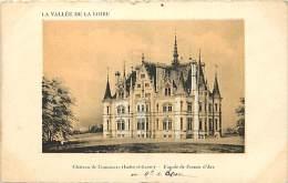 - Departs Div- Indre Et Loire - Ref Z852 - Chateau De Commacre - Façade De Jeanne D Arc - Chateaux - Carte Bon Etat - - France